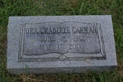 Ora <i>Crabtree</i> Carman