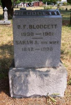 Sarah Ann <i>Hardman</i> Blodgett