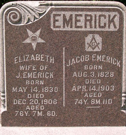 Elizabeth <i>Chapman</i> Emerick