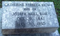 Catherine Rebecca <i>Brown</i> Buie