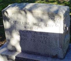 Catherine <i>McGeachy</i> Buie