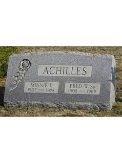 Minnie Louise <i>Storck</i> Achilles
