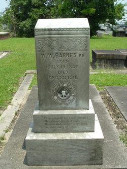 William Walton Barnes, Sr