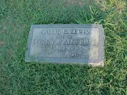 Callie E. <i>Lewis</i> Albright