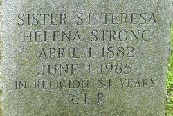 Sr Helena St. Teresa Strong
