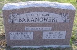 Genevieve B <i>Wolsey</i> Baranowski
