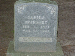 Sabina <i>Fredregill</i> Brinkley