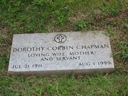 Dorothy <i>Corbin</i> Chapman