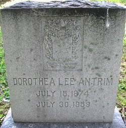 Dorothea <i>Lee</i> Antrim