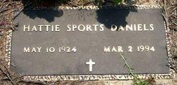 Hattie <i>Sports</i> Daniels