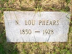 Nancy Lou Lou <i>Walston</i> Phears