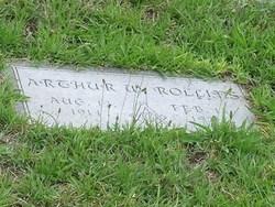 Arthur W Rollins