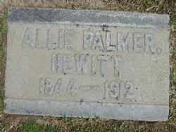 Allie <i>Palmer</i> Hewitt