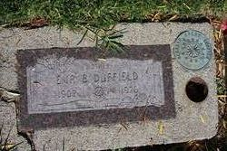Eva B <i>Miller</i> Duffield
