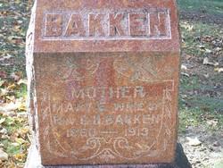 Mary E <i>Haugen</i> Bakken