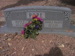 Bernice Imogene <i>Walker</i> Pope