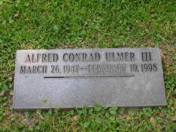 Alfred Conrad Ulmer, III