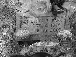 Ethel E. Babb
