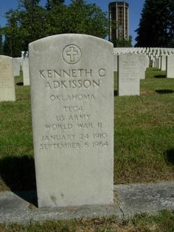 Kenneth C Adkisson