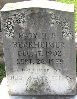Mary H. <i>Flippen</i> Berkheimer