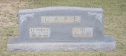 Leonard Sidney Cape
