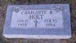 Charlotte Beatrice Lottie <i>Keller</i> Holt