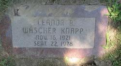 Eleanor R. <i>Wascher</i> Knapp