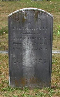 Cynthia <i>Sedgwick</i> Price