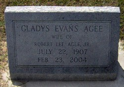 Gladys <i>Evans</i> Agee