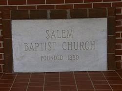 Salem Baptist Church Cemetery
