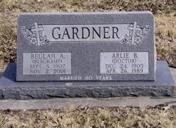 Beulah Anna <i>Bergkamp</i> Gardner