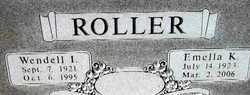 Emella Kathleen <i>Owings</i> Roller
