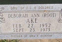 Deborah Ann <i>Root</i> Ake