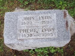 Phebe <i>Miller</i> Lyon