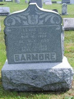 Betsey Ann <i>Barker</i> Barmore