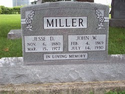 Jesse M <i>Donnan</i> Miller