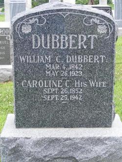 Caroline Christine <i>Bischoff</i> Dubbert
