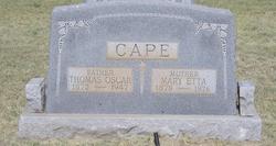 Mary Etta Cape