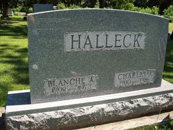 Blanche Annette <i>White</i> Halleck