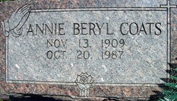 Annie Beryl Coats