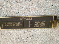 Twila Joy <i>Ritthaler</i> Adams