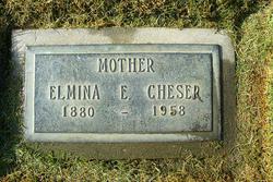 Elmina E. <i>Baker</i> Cheser