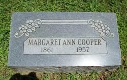 Margaret Ann Cooper