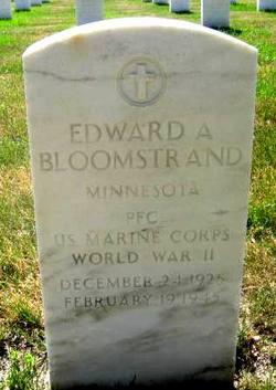 Edward A Bloomstrand