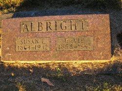 Susan Ellen <i>Mosier</i> Albright
