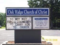 Oak Ridge Church of Christ Cemetery