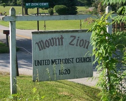 Mount Zion Methodist Church Cemetery
