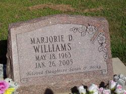 Marjorie D. Williams