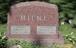 Violet V Milne