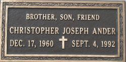 Christopher Joseph Chris Ander